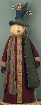Mr. Whipplestreet Snowman Doll