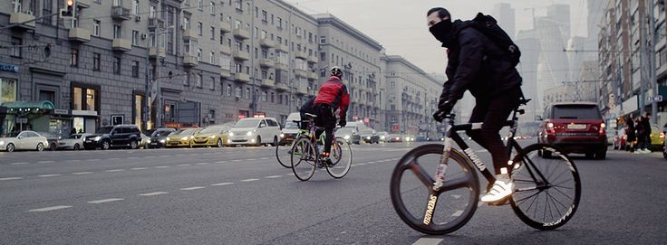 Watch our exclusive feature showcasing the thrilling world of fixed gear bicycle fanatics in Berlin and Moscow.