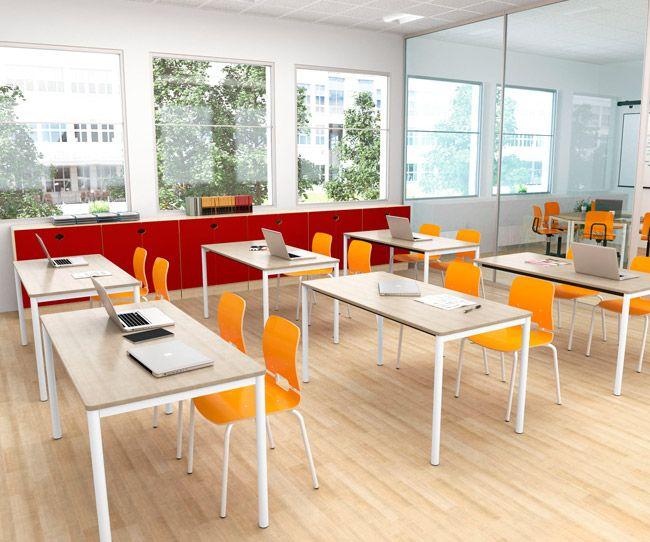 Klasseromsmøbler Å utvikle funksjonelle miljøer for skoler  og andre undervisningsinstitusjoner er en stor utfordring. Møblene må være meget fleksible og lette å tilpasse til forskjellige situasjoner og behov. Det er også velkjent at interiørutformingen påvirker elevers generelle trivsel og evnen til å lære. EFG Classroom er en komplett interiørløsning for klasseromsundervisning og for egne studieområder.
