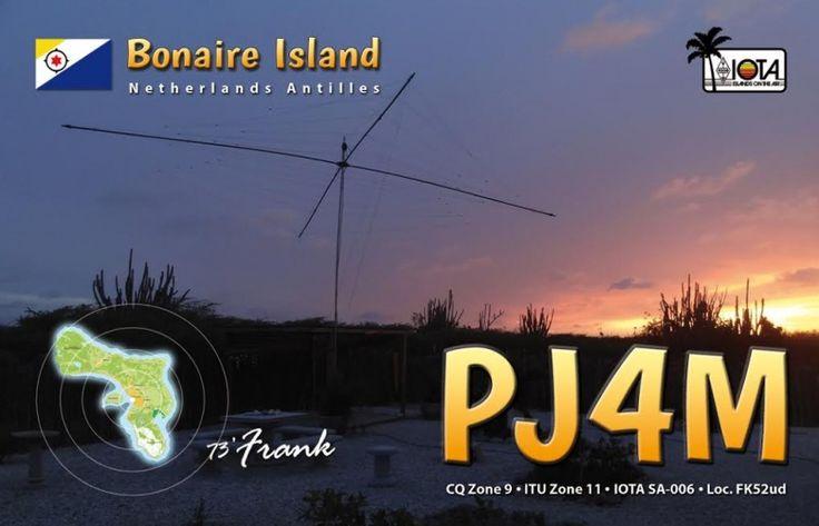 PJ4M Activation DX sur l'île de Bonaire