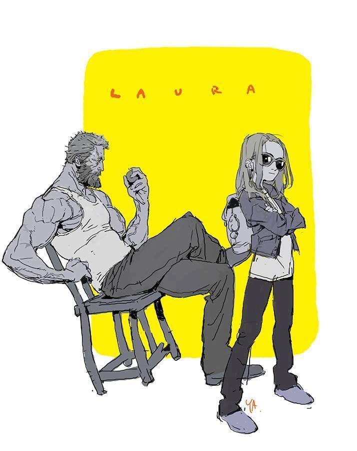 Logan and Laura by Kim Il Kwang