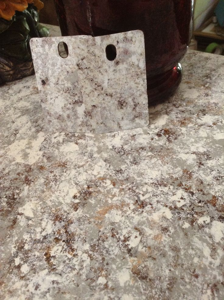 images about DIY Countertops on Pinterest Faux granite countertops ...