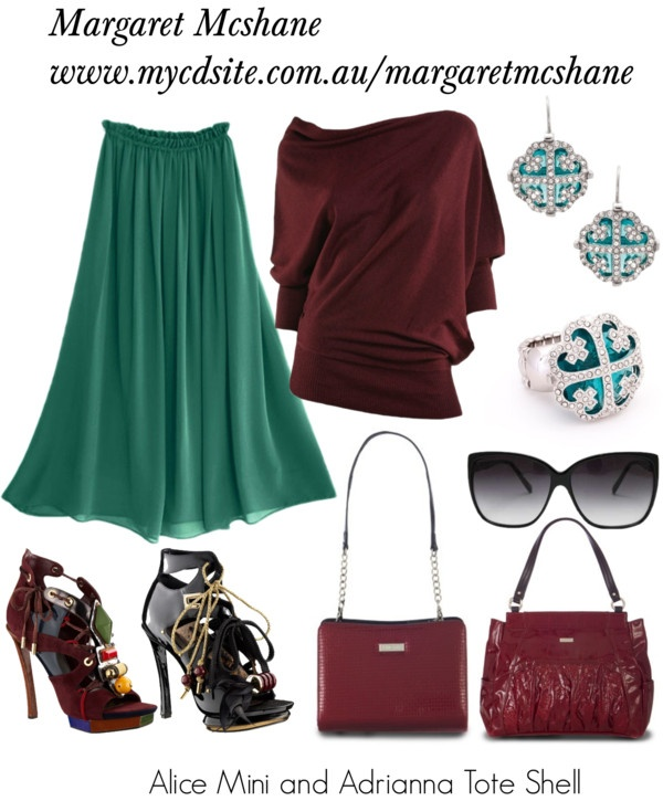 """Miche Handbag"" by mcshanes on Polyvore"