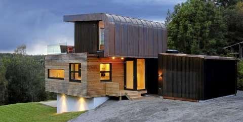 Arkitekttegnet for landlige omgivelser.