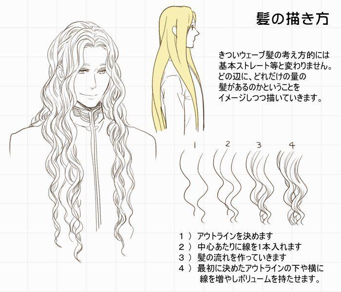 髪の描き方 [7]