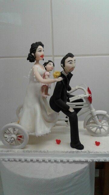 Familia en porcelana
