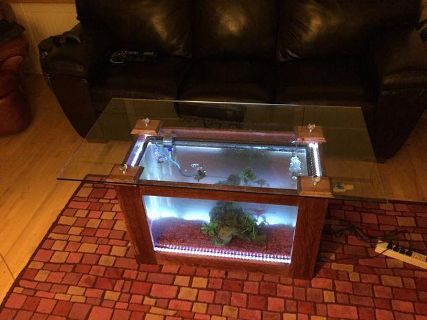 Fish Tank Coffee Table