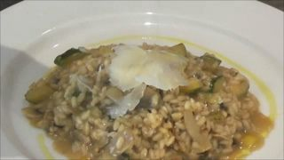 Mushroom Risotto! Check out our video below!