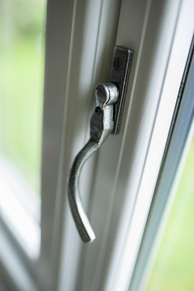 Pear drop handle in #pewter - #Residence9 #R9journey #Windows #Doors #Orangeries #Conservatories #HomeImprovement