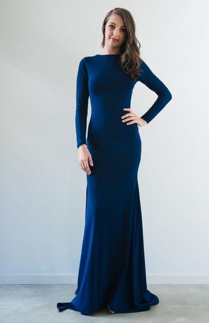 Anastasia Long-Sleeved Gown by When Freddie Met Lilly   www.whenfreddiemetlilly.com.au whenfreddiemetlilly@gmail.com INSTAGRAM #whenfreddiemetlilly