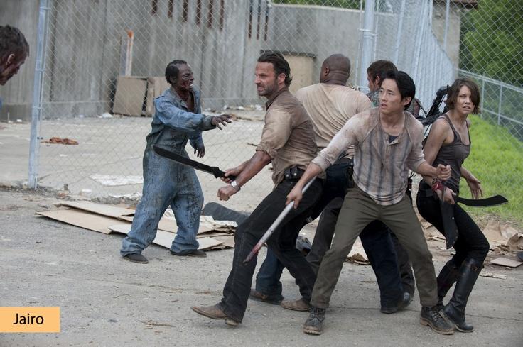"""Segunda y tercera temporada de """"The Walking Dead""""."""