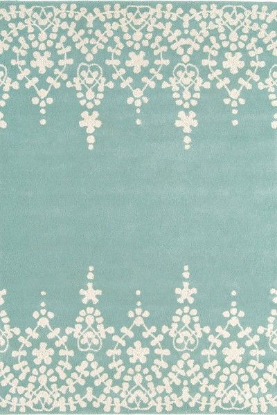 Affordable Blue Hand Tufted Rug TTP-536