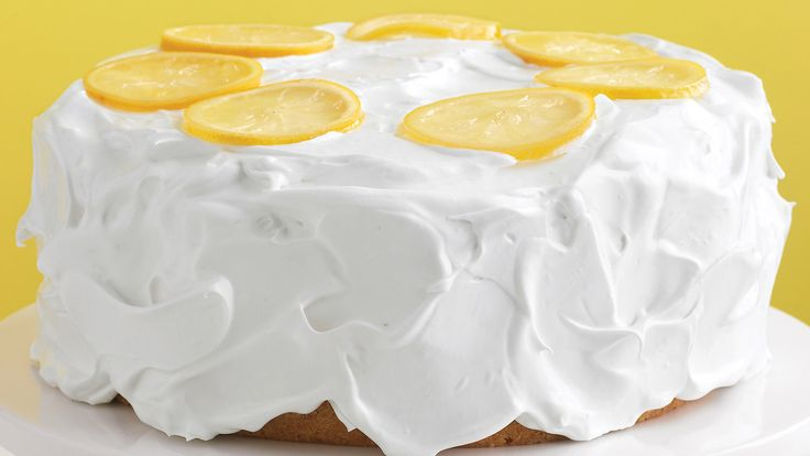 Martha Stewart Lemon Cake With Whipped Frosting