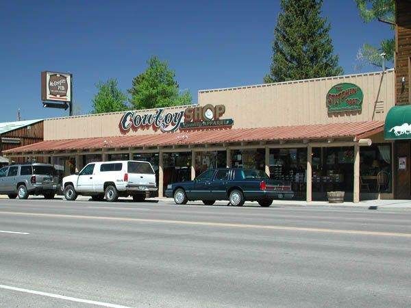 Cowboy Shop in downtown Pinedale, Wyoming