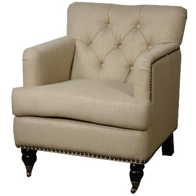 TWO IN STOCK  Nora Tufted Flax Accent Chair  28 w X 34 5. 183 best 2017 Living Room images on Pinterest   Renting  Accent