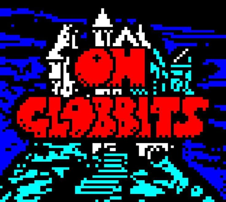 On this gentle Mistigram afternoon more @horsenburger #TheTrapDoor #teletext. #OhGlobbits in addition to being a spectacularly underused hashtag is an all-purpose exclamation (or expletive perhaps) in the thing-under-the-bed world of this stop-motion animation. This screen which was released in the recent MIST1017 artpack collection is done in the style of the show's title cards (and indeed there is probably an episode by this name.)