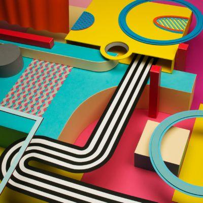 Hampus Hagman paper artist, graphic designer, animator