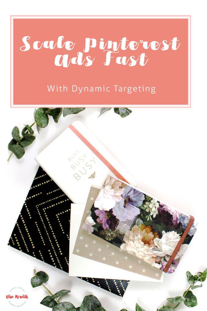 Eine neue Möglichkeit zur schnellen Skalierung von Pinterest-Anzeigen – Dynamisches Keyword-Targeting