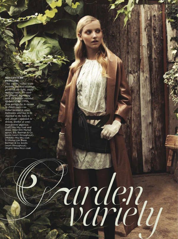 43 Earthy Garden Photoshoots - From Chic Greenhouse Editorials to Glorious Garden Pictorials (TOPLIST)