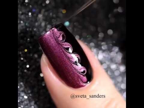 Beautiful Nail Polish Designs Videos Hession Hairdressing