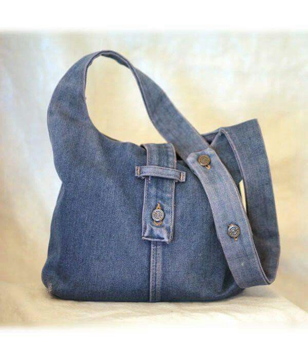 Jeans love the fastening on this bag only jeans for Old denim