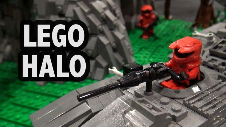 Halo Big Team Battle in LEGO | Brickworld Chicago 2017