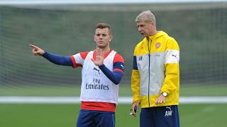 """He's on a good way in training-Wenger on jack wilshere's playing chances   Jack Wilshere could feature for Arsenal against Cologne in the Europa League...  The England midfielder played featured with Bournemouth on loan last season despite featuring in two of Arsenal's first three Premier League games and his recovery from a broken leg held him back at the start of pre-season this summer.Wenger Speaking ahead of the Cologne game said: """"He's on a good way in training. He's getting stronger…"""