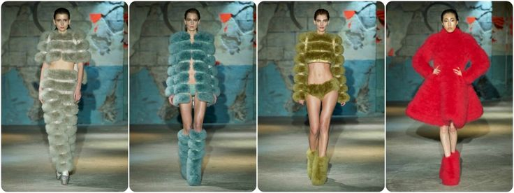 Faux fur fashion spring/summer 2015 - Serkan Cura