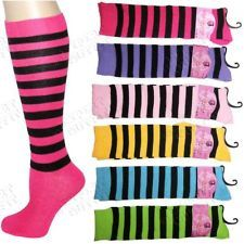 Socks for all the girls at the party in Neon colors!!!