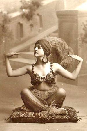 1910, vintage, meditation, yoga, photo