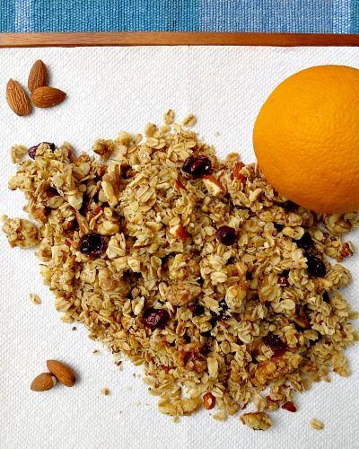 Orange Cranberry Granola Recipe | Granola, Cranberries and ...