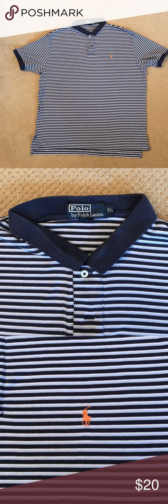 Men's Polo Ralph Lauren cotton polo shirt Vintage Men's Polo Ralph Lauren cotton polo shirt. Size XL.  Looks great! Polo by Ralph Lauren Shirts Polos