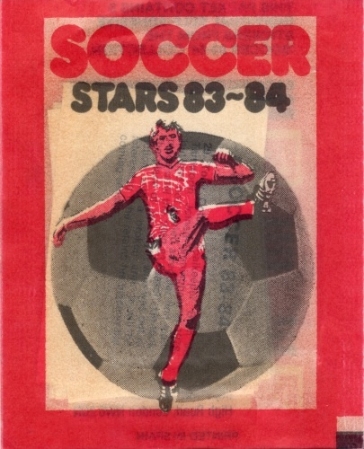 Soccer Stars '83-'84 (Packet Front)