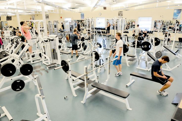 The beautiful fitness centre at Georgian College Barrie Campus