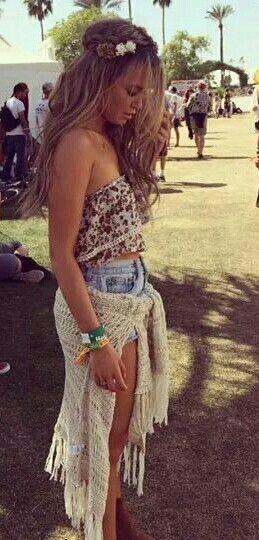 Mandy Capristo in Coachella