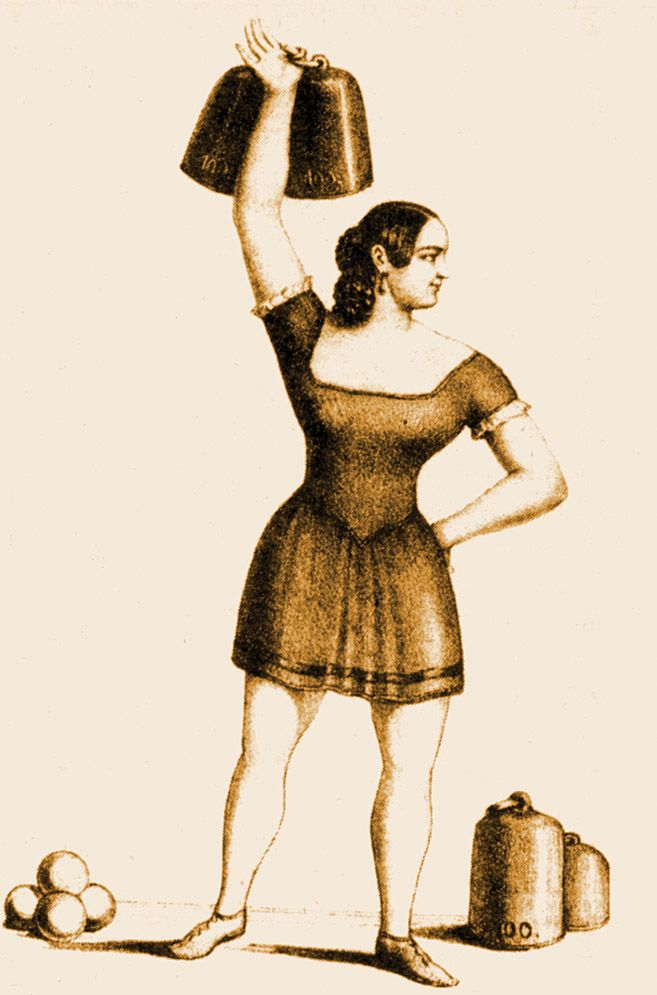 Venus with Biceps: A Pictorial History of Muscular Women | Brain Pickings