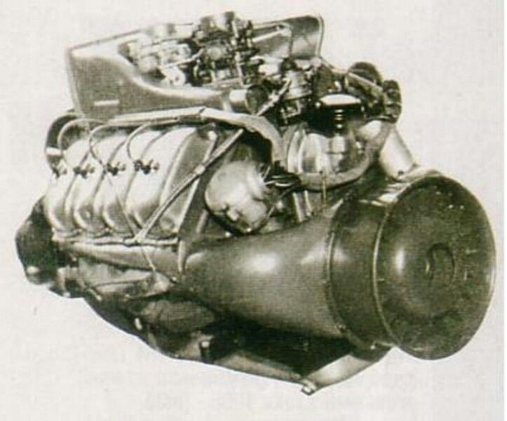 Tatra 603 engine, 2.5 litre, V8, 95 - 140 HP, Czechoslovakia, 50s, creater of engine Julius Mackerle