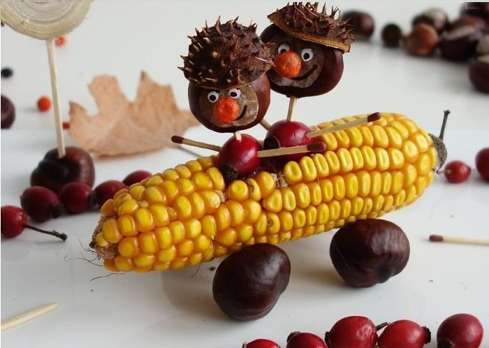 Gesztenye páros a kukorica mobilban! - Hogyan készül?