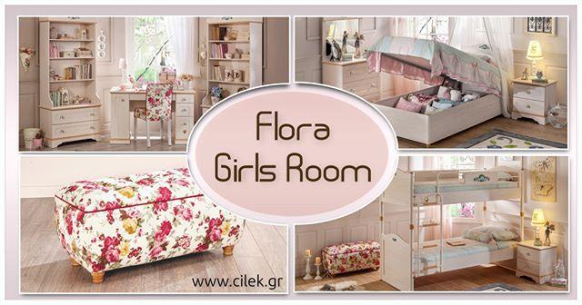 Παιδικό δωμάτιο FLORA Το άρωμα των λουλουδιών θα αρωματίσει το δωμάτιο σας. Ένα χαρούμενο κοριτσίστικο δωμάτιο στολισμένο με πήλινα ζωγραφιστά λουλούδια. Δείτε όλο το δωμάτιο στο www.cilek.gr #cilekgreece