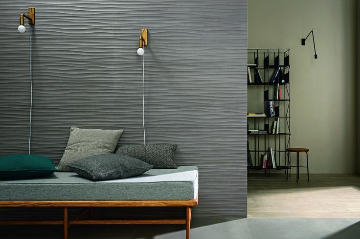 #Marazzi | #Materika | #Block | #bedroom | #ADI | #ceramicsdesignaward2015 | #andreaferrari | #3D