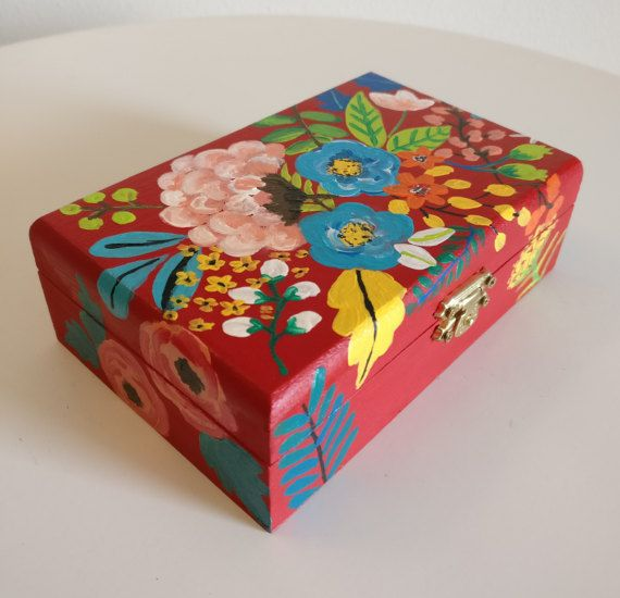 Check out this item in my Etsy shop https://www.etsy.com/listing/510922197/hand-painted-wooden-box-treasure-box