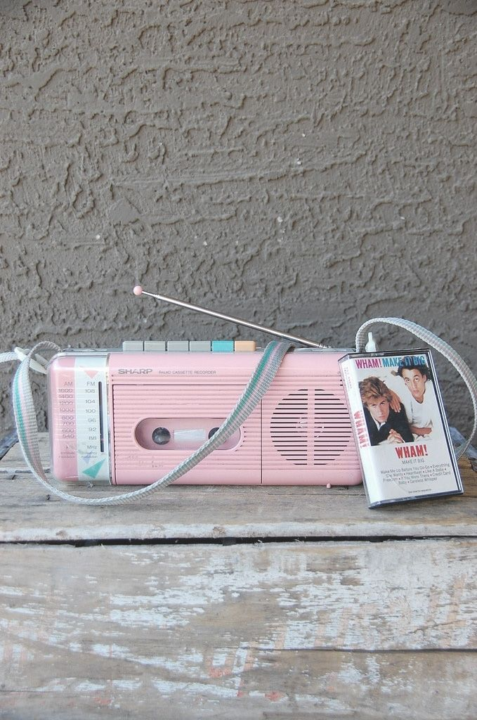 80's Cassette Player/Recorder/Radio by Sharp...