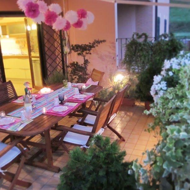 Atmosfera in terrazza. Tutorial per realizzare i Pom Pom by Chiarapassion