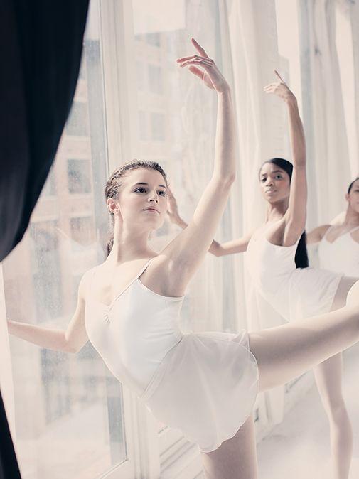 Jesse Chase-Lubitz, Nardia Boodoo - Joffrey Ballet Trainees by ©Gina Uhlmann Photography