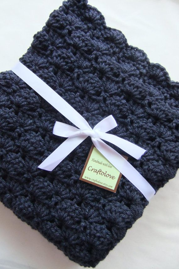 Baby Blanket - I like this nontraditional color for baby