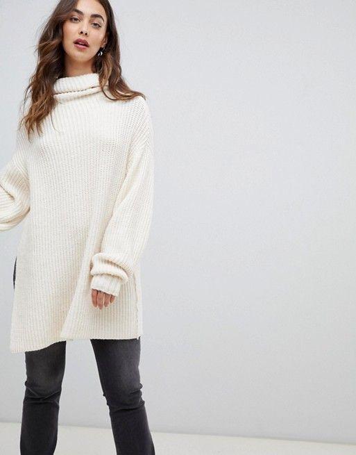 a3bdcfbfa24 Free People Elevan oversized roll neck sweater | free people | Roll ...