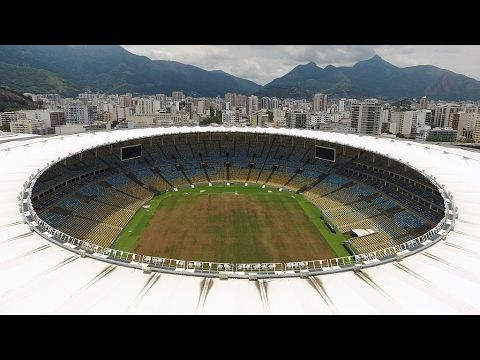 Rio 2016 Olympic venues abandoned and derelict six months after Games – video   Sport   The Guardian