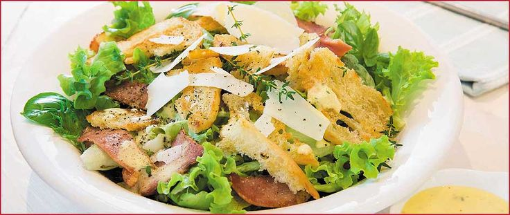 A delicious Bacon Caesar Salad recipe just for you
