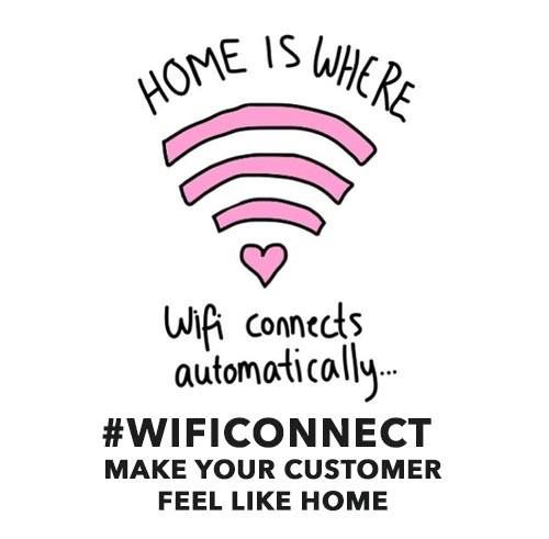 Feel like home #wificonnect