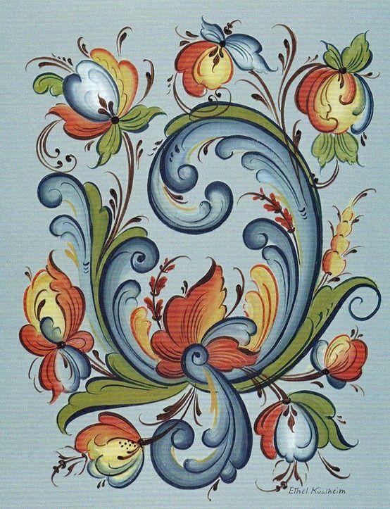 Rosemaling Stencils | Rosemaling